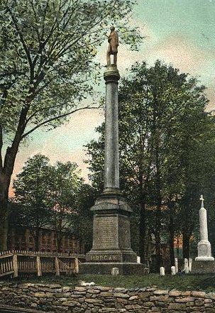 Morgan Monument in Batavia, N.Y.