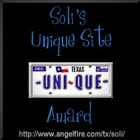 Soli's Unique Site Award